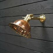 Nautical Marine Cargo Brass And Copper Pendant/ceiling/wall/hanging Light 10 Piece
