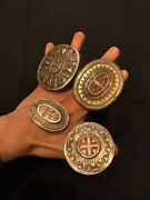 Antique Khazak Silver Jewelry Ring, Handmade Cultural Ceremony Vintage Ring