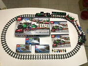 Lego 10173 Holiday Christmas Train With Tracks 100 Complete With Box And Instr