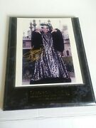 George Takei Sulu Authenticated Autographed Photo With Wall Plaque
