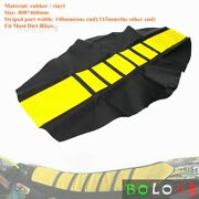 For Yamaha Ttr110 Rm250 Drz400 Dirt Pit Bike Enduro Motorcycle Soft Seat Cover