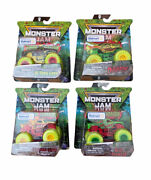 🔥new Set Of 4 Monster Jam Zombie Invasion Special Edition Walmart Exclusive