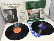 Dr. Martin Luther King Funeral Svc 1968 The Great March Washington Vinyl Album