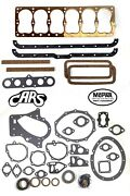 1934-1960 Dodge And Plymouth   201 218 230   Full Engine Gasket Set   Best Gasket