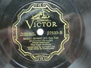 The High Hatters - Victor 22533 - Sweet Jennie Lee And I Don't Want To Dream