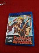 Bloodthirsty Butchers Code Red Bluray Like New