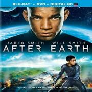 After Earth Blu-ray + Dvd