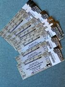 2016 Penguins Stanley Cup Playoff Ticket Lot All 16 Sidney Crosby