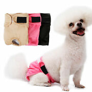 Female Dog Diaper Reusable Pet Physiological Hygiene Pants Doggy Sanitary Nappy