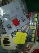 Alot Of Vintage Ho Scale Plasticville Fire Police Diner Church House Home Fence