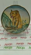 Veneto Flair Limited Edition Plate By V. Tiziano - Tiger 1972
