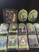 Rick And Morty Action Figure Lot 15 Figures Wave 1-3 Complete Set Funko Adult Swim