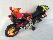 Vintage Very Big Bike Motorcycle Moto Plastic Battery Operated Toy China Toys W