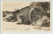 Rppc Bryson City North Carolina The Old Mill By W Cline Real Photo Nc Un-posted