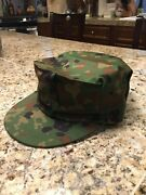 Japan Ground Maritime Air Self Defense Force Camouflage Octagon Cap