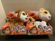 Lot Of 2 Furreal Poopalots Big Wags Puppy And Kitten Toys New In Box New