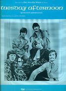 Moody Blues Tuesday Afternoon Sheet Music-piano/vocal/guitar-brand New-rare