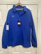 Nike Therma Midweight Jacket Team Blue Men's L Ci4472-480 Nwt 135 Msrp