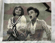 Completed Judy Garland And Barbra Streisand Cross Stitch Happy Days Get Happy Show