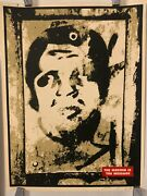 Shepard Fairey Print Obey Og Lamppost 18 X 24 80/200 2001 Andre The Giant