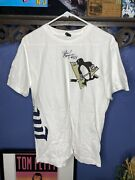 Pittsburgh Penguins T Shirt Autographed By Ray Borque Mens Xl White Preowned Nhl