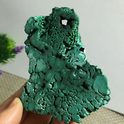 Green Stone Crystal Energy Of Rare Natural Malachite Mineral Samples 205g A1712