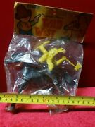 Vintage Plastic Indian With Horse-margie And Pete Toys-rare-old Stock