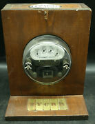 New York Central System Watthour Meter Sangamo Electric K4