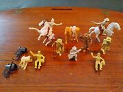 Marx 60mm Roy Rogers Cowboys/ Horses/ Accessories. 1950and039s