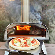 Big Horn Outdoors Pellet Grill Wood Bbq Smoker Portable Pizza Oven