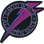 David Patch - David Bowie Embroidered Premium Artwork Iron-on / Sew-on Patch