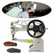 New Hand Crank Patch Leather Sewing Machine Shoe Repair Boot Patcher Head Diy Us
