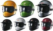 Tt And Co. Motorcycle Helmet Toecutter Clear Goggles Set Dot Unisex 7 Colors