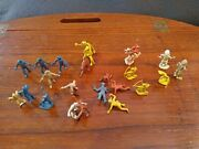 Marx 45mm Fort Apache Cowboys And Indians. 50's