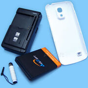 Acesoft 6300ma Battery Thicker Cover Charger For Samsung Galaxy S4 Mini Sm-s890l
