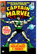 Captain Marvel 1 {a}marvel May 1968, Premiere Issue, Gene Colan Art, Vfn-nm
