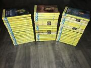 Nancy Drew Book Large Lot Of 48 Mixed Glossy And Vtg. Matte Carolyn Keene Read