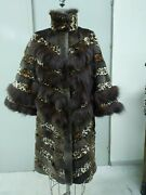 White Beaver Pieces Shird + Leopard Print + Brown Coyote