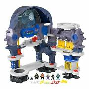 Fisher Price Dc Imaginext Exclusive Super Surround Bat Cave Figures Only