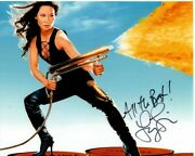 Lucy Liu Signed Autographed Charlie's Angels Alex Munday Photo