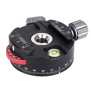 Pan-60h Camera Panoramic Ball Head Tripod Head With Indexing Rotator As Typ L4p3