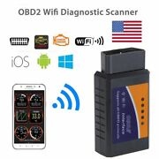 For Ios/android Windows Wifi Obdii Code Reader Auto Scanner Engine Detector