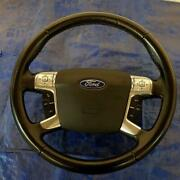 Ford Mondeo Titanium X 2010 Steering Wheel 34082974a Leather Black Multicontrols