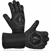 Extreme Heat Resistant Grill Gloves Food Grade Kitchen Oven Mitts