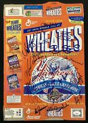 1996 Yankees Signed Cereal Box Wheaties 29sigs Rivera Raines Torre Autograph Jsa