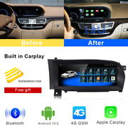 Android Car Gps Navigation Video Wifi Wireless Carplay For Mercedes Benz S Class