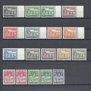 Turks And Caicos Islands 1938-45 Sg 194/200 + Shades Mnh Cat Andpound260