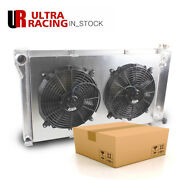 3 Rows For 1967-1972 1971 1970 Chevy Gmc C10 C20 Pickup 5.0l 5.7l Radiator +fans