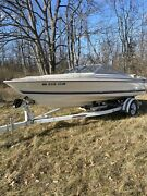 Capri Bayliner Cx225 Glass Windshield Far Port And Starboard Sides Only With Trim