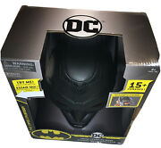 Batman Dc Voice Changing Mask 15+ Phrases The Caped Crusader Creature Chaos New